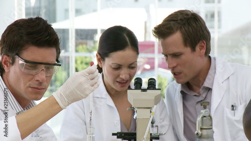 Analytical Chemists conducting scientific research