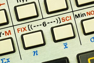 Function keys in a scientific calculator concepts of education