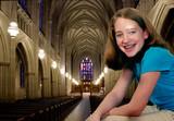 Girl at Church poster