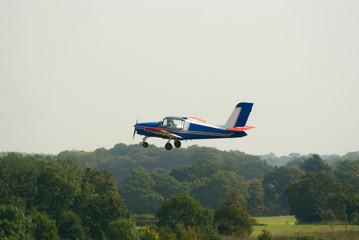 Socata Rallye plane takes off