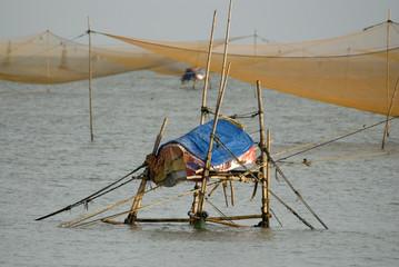 Vietnamese fishermen's nets