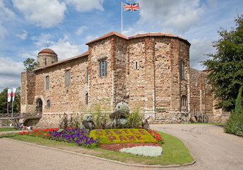 11th century Norman castle in Colchester
