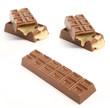 chocolate and caramel bars..