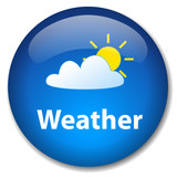 WEATHER Web Button (forecast meteorological service news feed) poster
