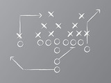 Vector Football Play
