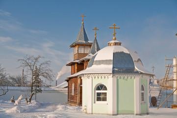 Деревянная церковь Спасо-Казанский Симанский монастырь