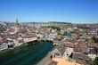 Cityscape of Zurich Switzerland