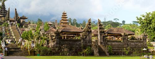 Plexiglas Indonesië Panorama of Mother Temple of Besakih in Bali