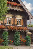 Historic Russian House in Potsdam, Germany poster