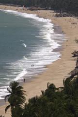 Nha Trang beach aerial view