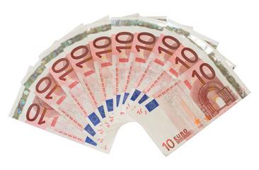 10 Euro Fächer