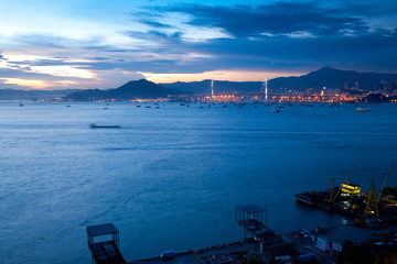 Hongkong Stonecutters Bridge