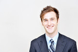 Fototapety portrait of a young businessman
