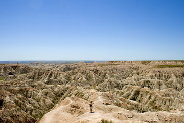 Badlands Natinal Park in South Dakota, USA.