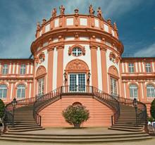 Wiesbaden Biebrich Schloss Haupteingang