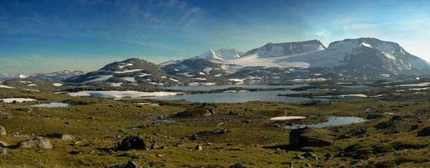 Stitched Panorama, North mountain
