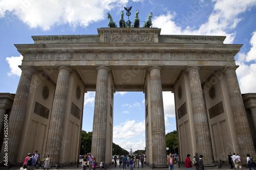 Fototapeta The Brandenburg Gate - Berlin
