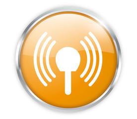 Antenne Empfang Button Modern