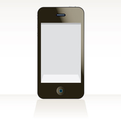 Phone touch pad vector