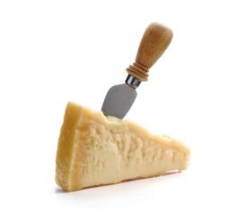 Fresco queso Parmesano.