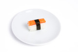 Sushi Kani on the plate