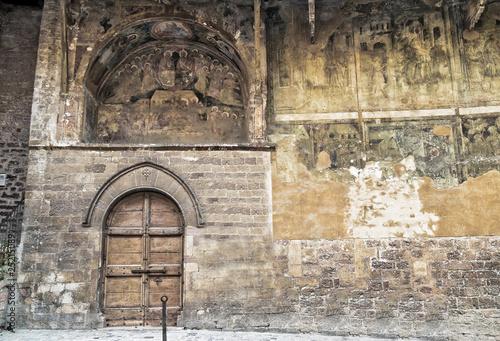 Poster St. Leonardo Oratory. Assisi. Umbria.