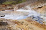 Geothermal area, colorful landscape - Iceland poster