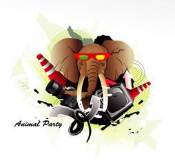 elephant vector illustration © chispas
