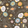Seamless floral pattern is beautiful