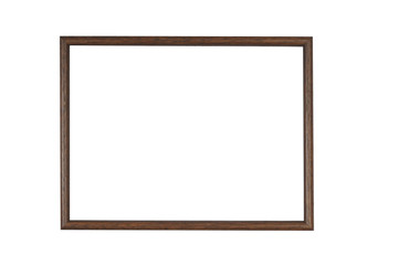 Empty wooden frame