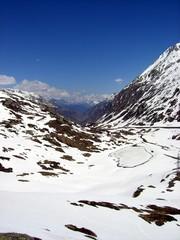 Blick vom Gotthardpass