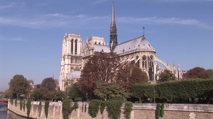 Notre Dame de Paris view