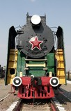 Old Soviet locomotive