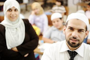 An a muslim teacher