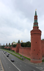 View to the Kremlin from the river