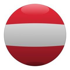 boule autriche austria ball drapeau flag