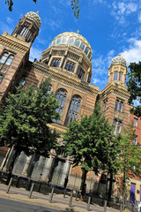 Die jüdische Synagoge in Berlin