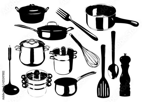 Photos bild galeria ustensiles de cuisine en m for Achat ustensile cuisine