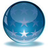 Kristallkugel, Glossy button