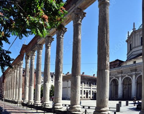 Milano, le colonne di San Lorenzo