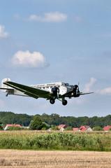 Junkers JU-52 landet