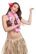 Hula Dancer Girl