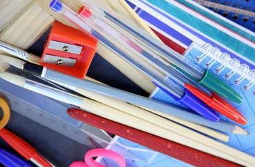 matériel scolaire, rentrée des classes