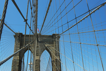 brooklyn bridge top