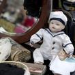 Doll on flea market in London