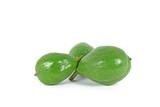 Unripe walnuts poster