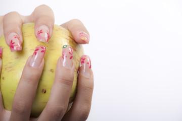 bellezza mani e unghia