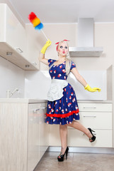 Spring cleaning in the kitchen