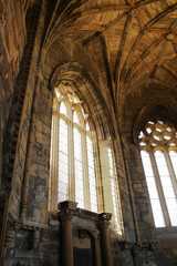 Church interior - Elgin Cathedral, Scotland