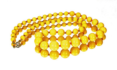 Mirror Image of Yellow Necklace